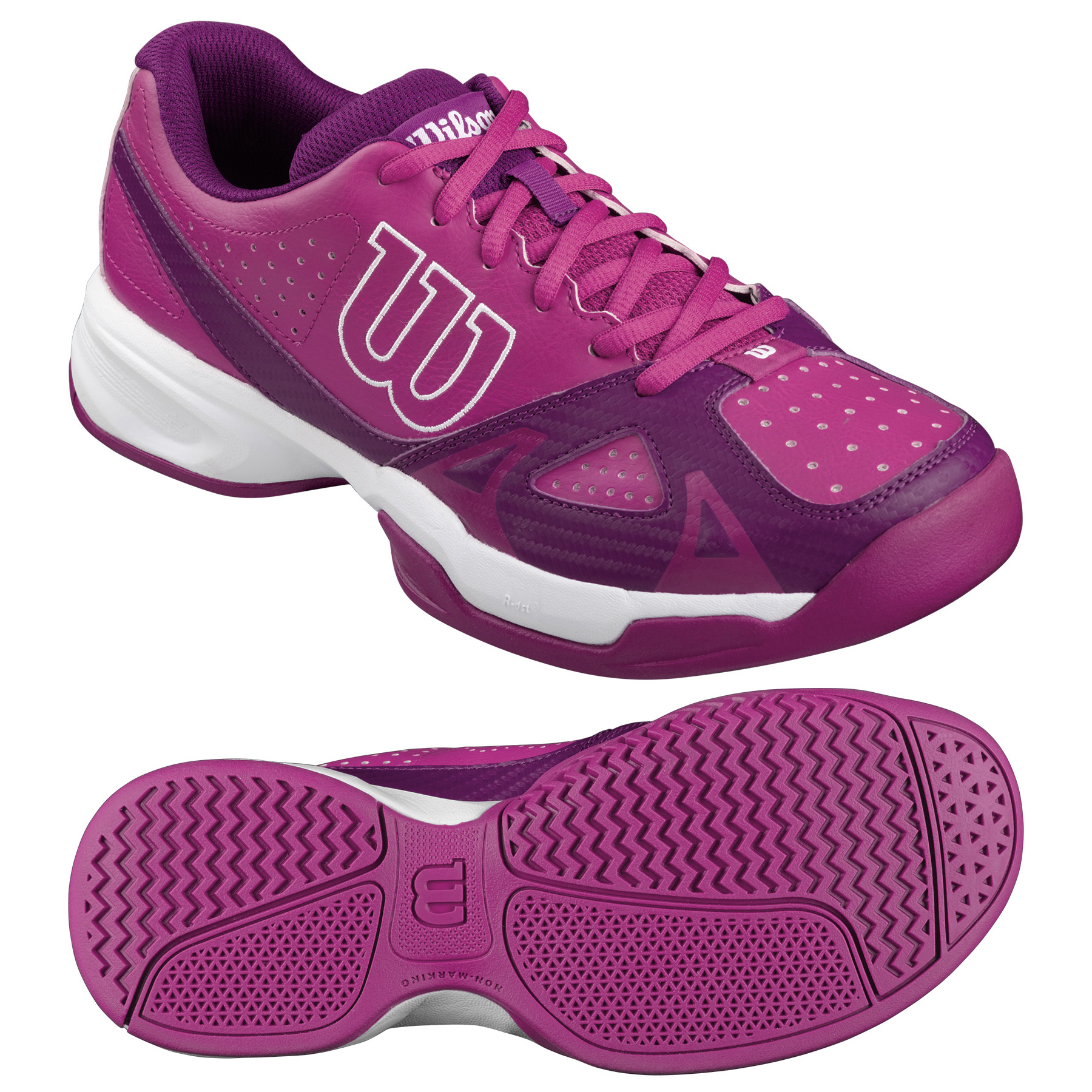 wilson open 2 0 tennis shoes pink white 5